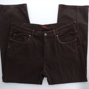 Tommy Bahama Jeans 38x30 Standard Brown Denim Jean